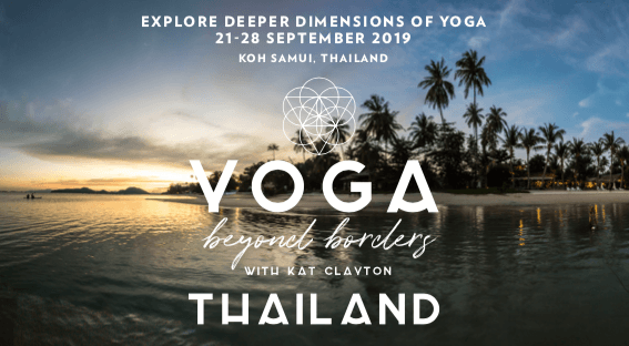 Thailand Yoga Retreat with Kat Clayton