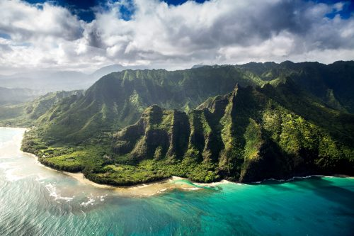 Photo of Hawaii topical island paradise
