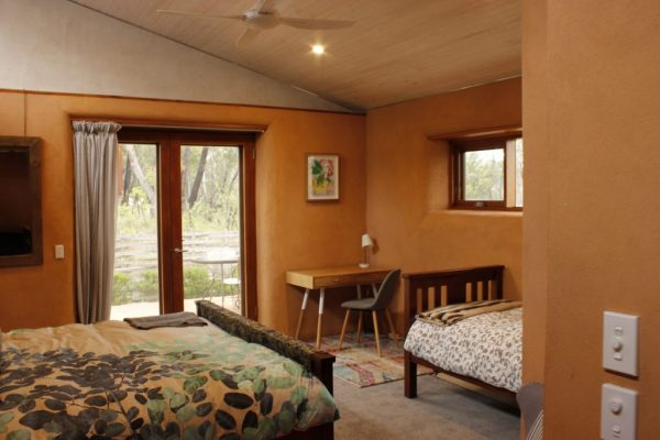 Room at the Blue Mountains bush retreat